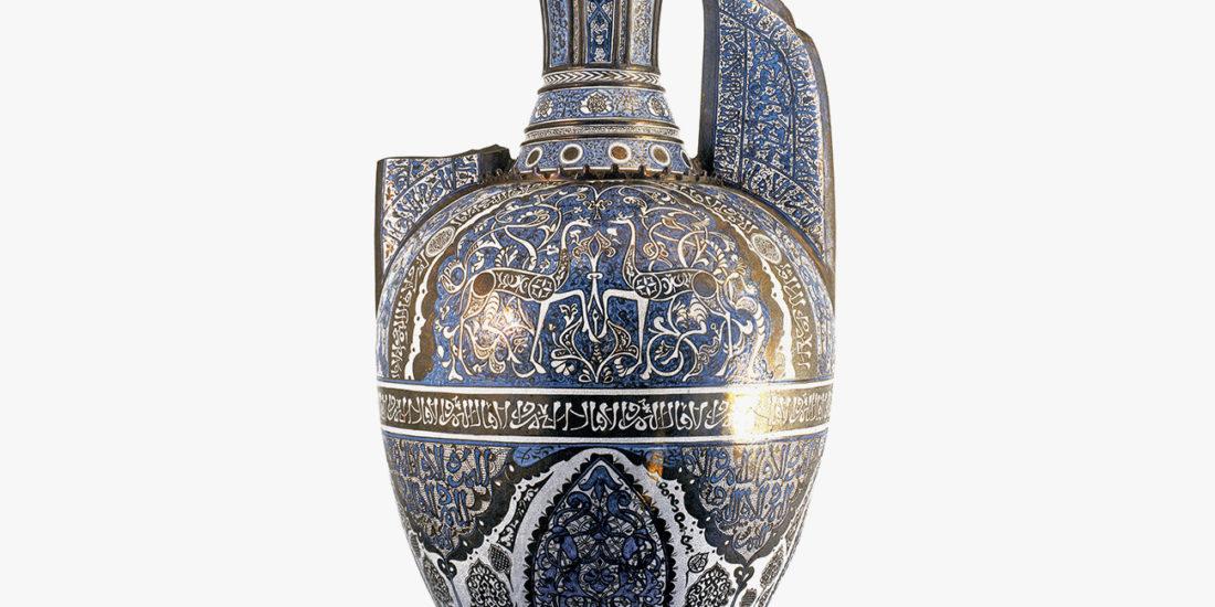 vaso nazari de las gacelas