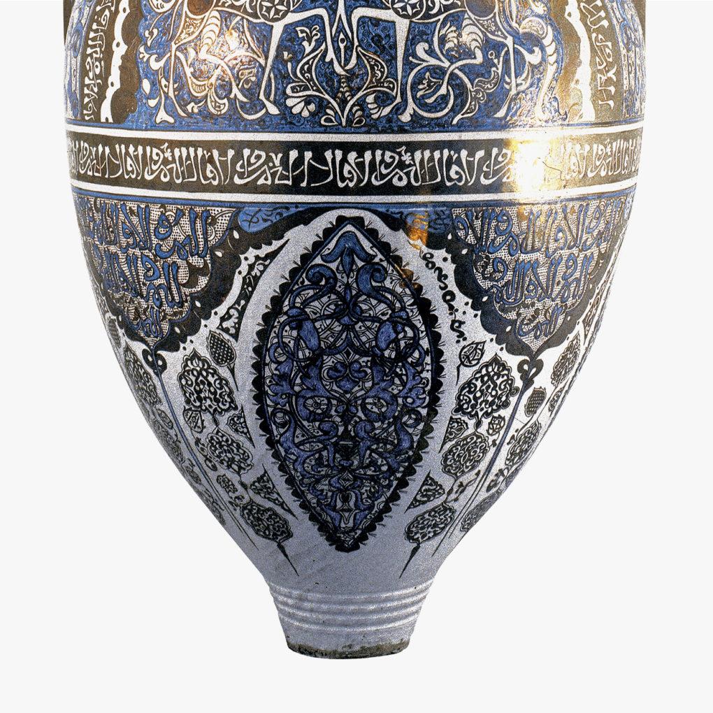 vaso nazari de gacelas